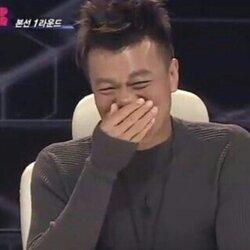 박진영 풉 웃음 비웃음 손가림 JYP